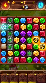 Как пройти 65 уровень игры Планета самоцветов.