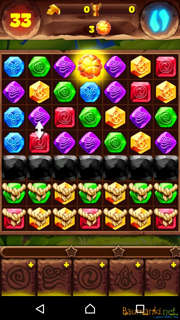 Как пройти игру планета самоцветов 135 уровень